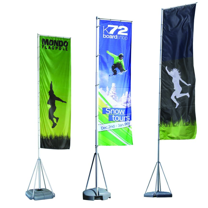 mondo outdoor printed flag