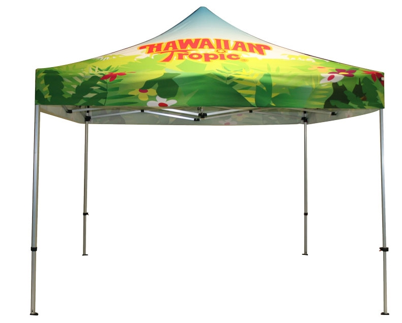 10ft Full Color Custom Printed Outdoor Tent