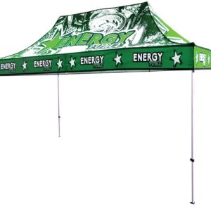 15ft Full color Custom Printed Outdoor Tent
