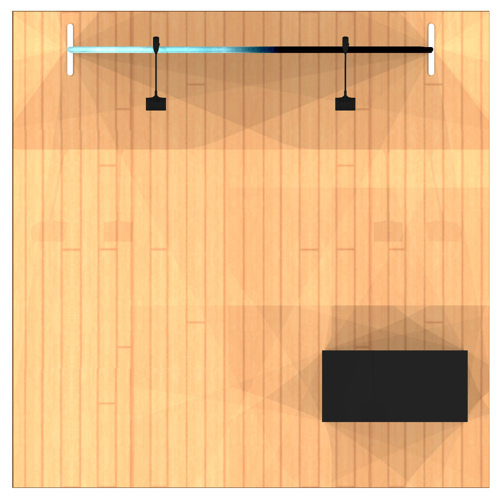 8ft Tension Fabric Display Kit top