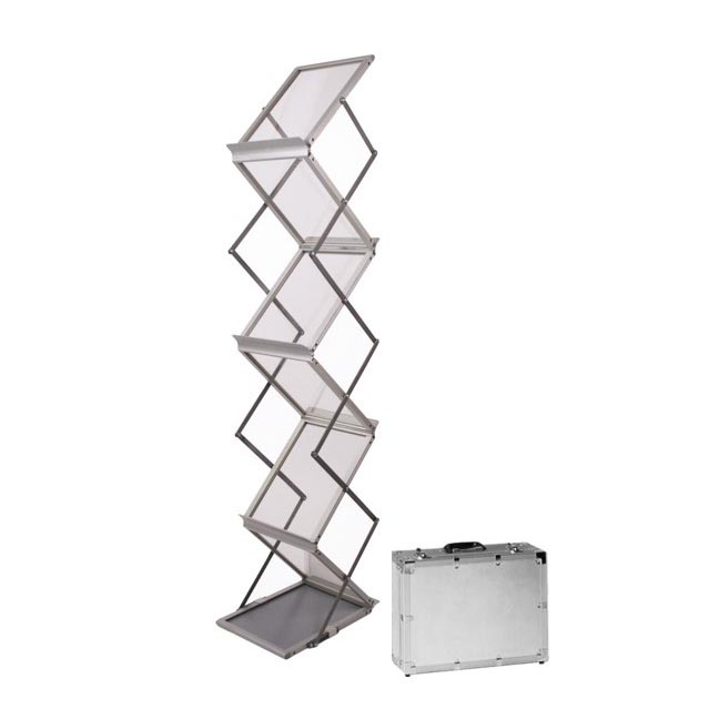 6 pocket zed up lite literature stand