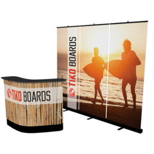 banner stand wall premium kit