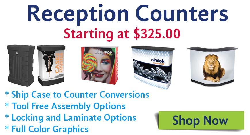 trade show counters