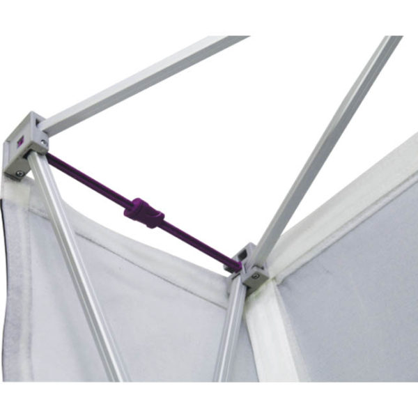 tension fabric pop up frame locking arms