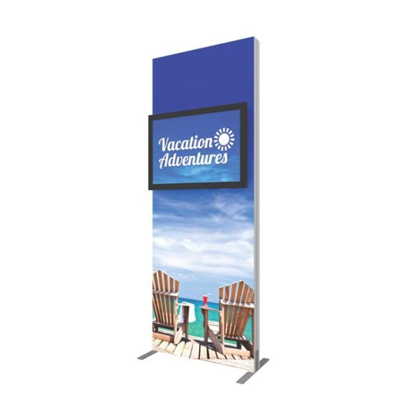 vector frame monitor kiosk 01 single sided