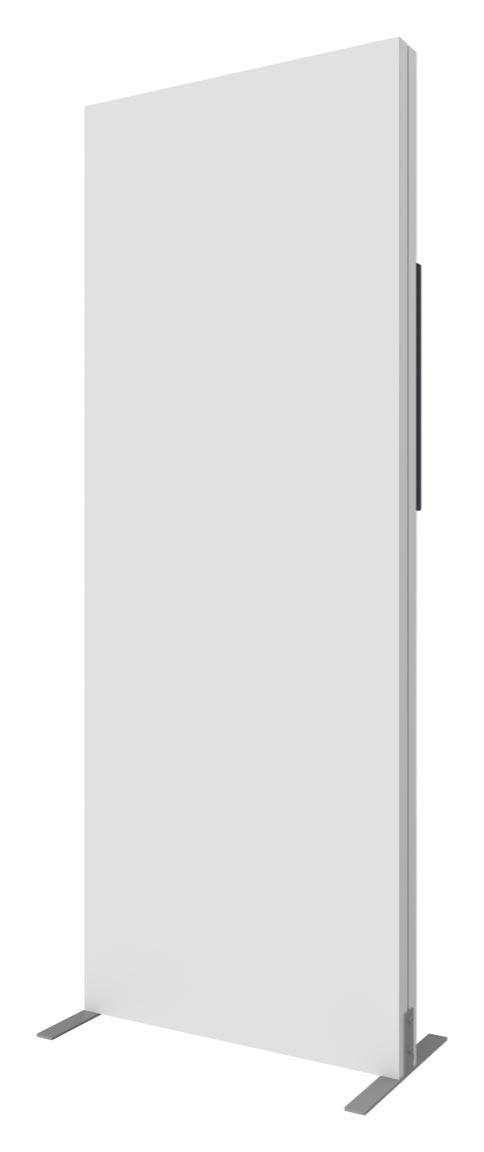 vector frame monitor kiosk 01 single sided back