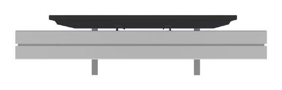 vector frame monitor kiosk 01 single sided top